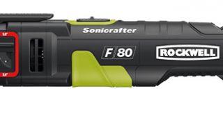 Новый вибрационный инструмент Rockwell F80 Duotech Sonicrafter