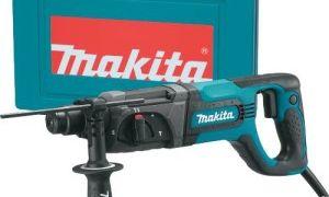 Обзор перфоратора Makita HR 2475 SDS-Plus