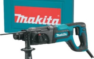 Обзор перфоратора Makita HR 2475 SDS-Plus
