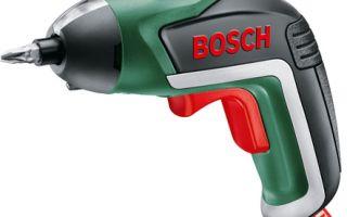 Аккумуляторный шуруповерт IXO от Bosch