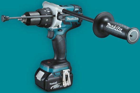 Makita-18V-lxph07-Hammer-Drill